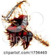 Fiery Grim Reaper