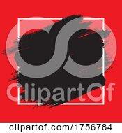Grunge Background With White Frame
