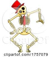 Cartoon Skeleton Dancing