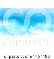 Hand Painted Blue Watercolour Background
