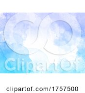 Abstract Detailed Watercolour Texture Background