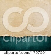 Dark Grunge Style Background With Torn Paper Texture