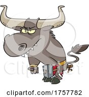 Cartoon Minotaur