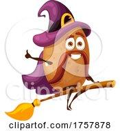 Potato Witch Mascot