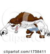 Cartoon Werewolf by Hit Toon