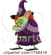 Cartoon Giggling Witch by Hit Toon