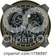 Poster, Art Print Of Chinese Zodiac Monkey