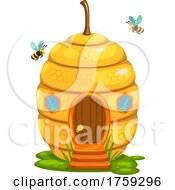 Bees And Hive House