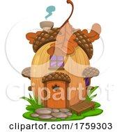 Acorn Fairy House
