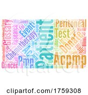 Colorful Word Collage Of Appendix Cancer Words