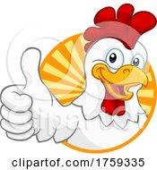 Chicken Cartoon Rooster Cockerel Character by AtStockIllustration #COLLC1759335-0021