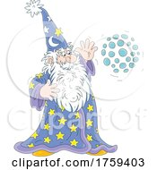 Wizard Doing Magic