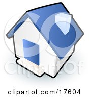 Royalty-Free (RF) Blue House Clipart, Illustrations, Vector ...