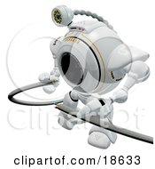 Robotic Cam Repairing Broken Cables