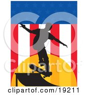 Skateboarder USA by Maria Bell