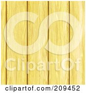 Royalty Free RF Clipart Illustration Of A Seamless Pine Wood Plank Background by Arena Creative