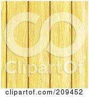 Seamless Pine Wood Plank Background