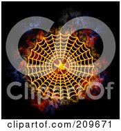 Blazing Spider Web