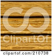 Royalty Free RF Clipart Illustration Of A Seamless Background Of Rustic Wooden Oak Planks by Arena Creative