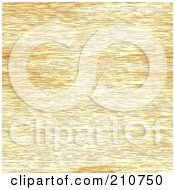 Royalty Free RF Clipart Illustration Of A Rough Seamless Wood Grain Texture Background by Arena Creative