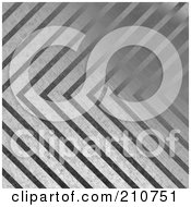 Royalty Free RF Clipart Illustration Of A Brushed Metal Background With Stripes