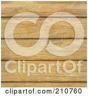 Royalty Free RF Clipart Illustration Of A Seamless Background Of Wooden Oak Planks