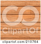 Royalty Free RF Clipart Illustration Of A Seamless Background Of Cherry Wooden Planks