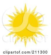 Yellow Sun Shining by Hit Toon