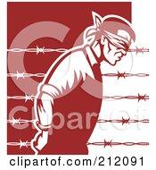 Prisoner Of War Blindfolded