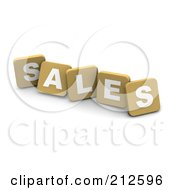 3d Tan Blocks Spelling SALES