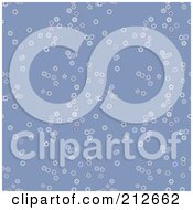 Royalty Free RF Clipart Illustration Of A Seamless Repeat Background Of Falling Flakes Blue