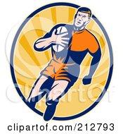 Rugby Man Logo
