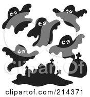 Digital Collage Of Ghosts 1 by visekart