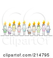 Stick Candle People Group