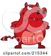 Grumpy Red Devil by Cory Thoman