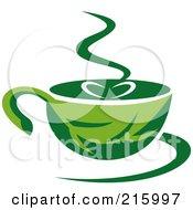 Green Organic Coffee Cup