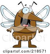 Happy Mosquito Standing
