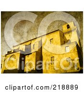 Vintage Textured Building Background 2