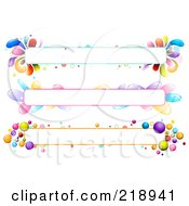 Royalty Free RF Clipart Illustration Of A Digital Collage Of Three Colorful Website Banner Headers 5