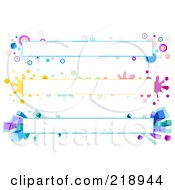 Royalty Free RF Clipart Illustration Of A Digital Collage Of Three Colorful Website Banner Headers 2