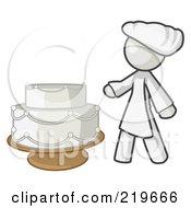 White Woman Wedding Cake Maker