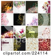 Digital Collage Of Background Designs 11