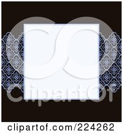 Royalty Free RF Clipart Illustration Of An Invitation Template With Copyspace 19