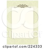 Royalty Free RF Clipart Illustration Of An Invitation Template With Copyspace 7