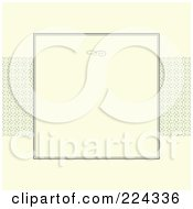 Royalty Free RF Clipart Illustration Of An Invitation Template With Copyspace 15