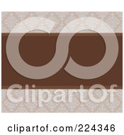 Royalty Free RF Clipart Illustration Of A Swirl Invitation Template With Copyspace 1
