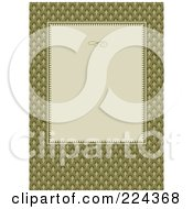 Royalty Free RF Clipart Illustration Of An Invitation Template With Copyspace 33