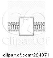 Royalty Free RF Clipart Illustration Of An Invitation Template With Copyspace 30