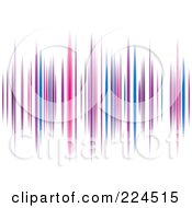 Royalty Free RF Clipart Illustration Of A Colorful Equalizer Background by michaeltravers