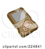 Royalty Free RF Clipart Illustration Of A 3d Engine Analyzer Or Cell Phone 4